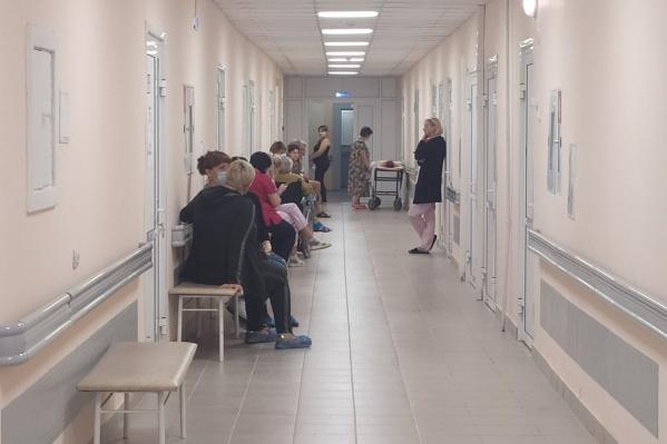 В обновленных помещениях приятно работать и принимать процедуры пациентам