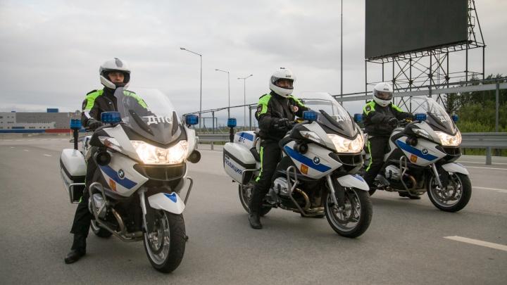 Теперь точно весна: гаишники на BMW и Yamaha начали патрулировать улицы Екатеринбурга