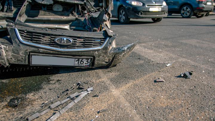 В ГИБДД Самары назвали причины аварий с молодыми водителями