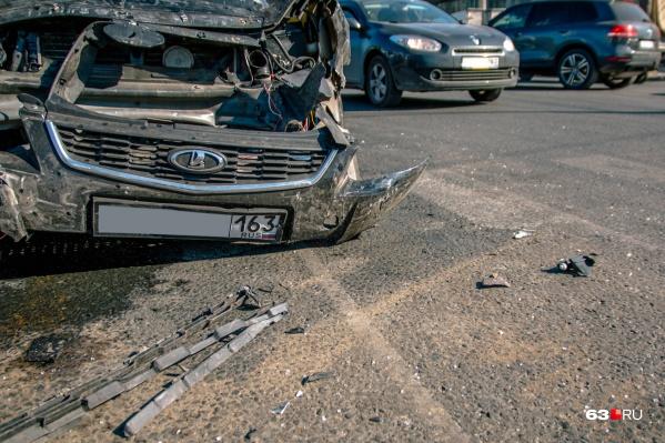Молодые водители за полгода попали в 16 аварий