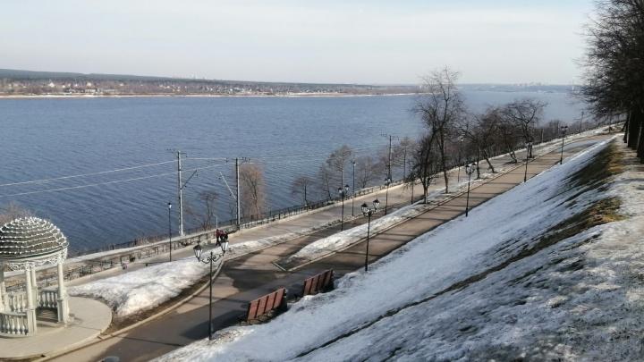 МЧС предупреждает о сильном ветре и мокром снеге в Пермском крае