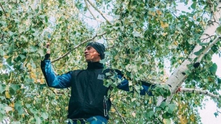 Омский тиктокер попал в «Вечерний Ургант» из-за дистанта на березе
