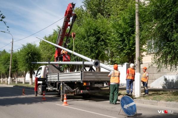 За восемь часов рабочие планируют управиться с ремонтом оборудования