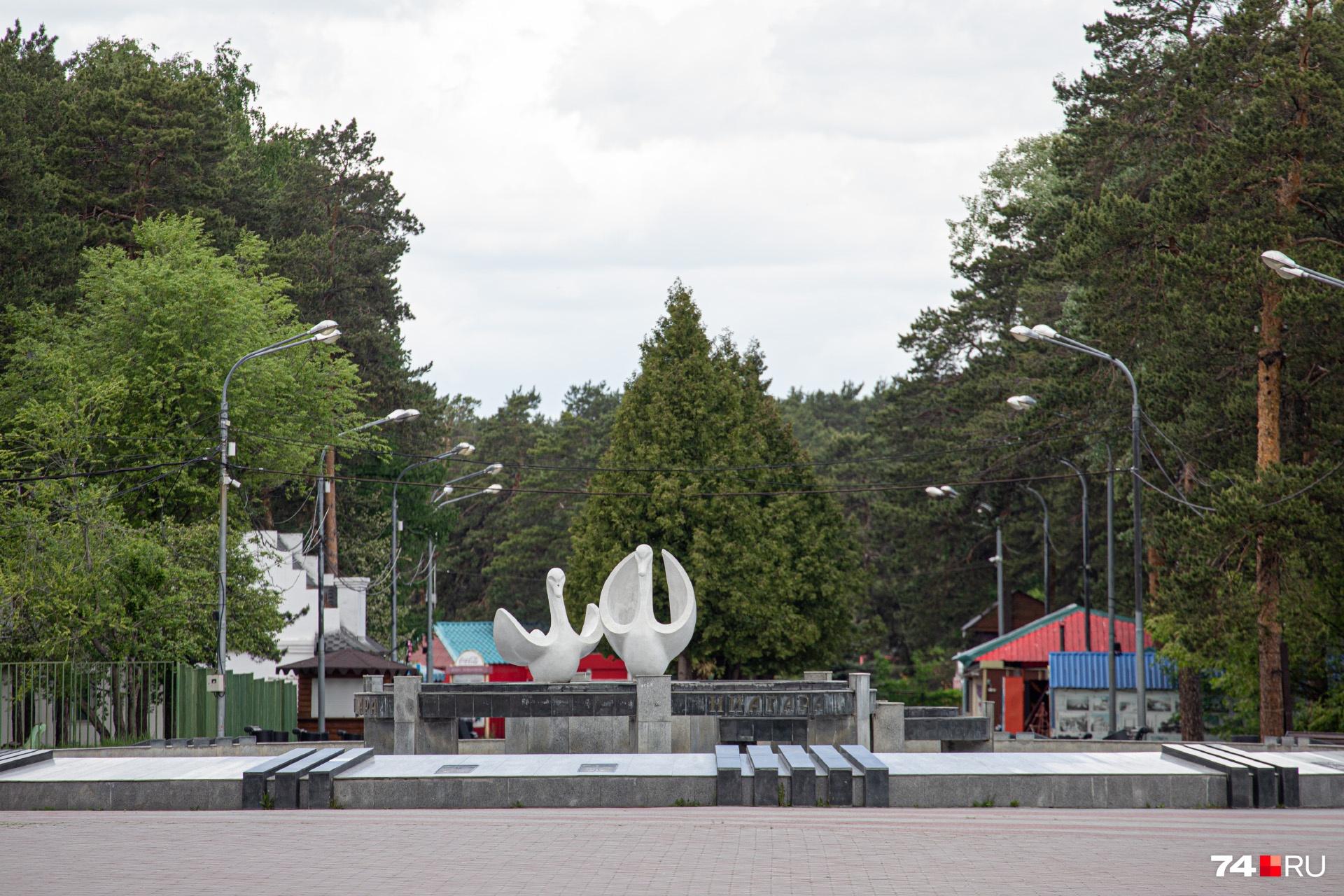 В прошлом году главный парк города остался без большинства аттракционов