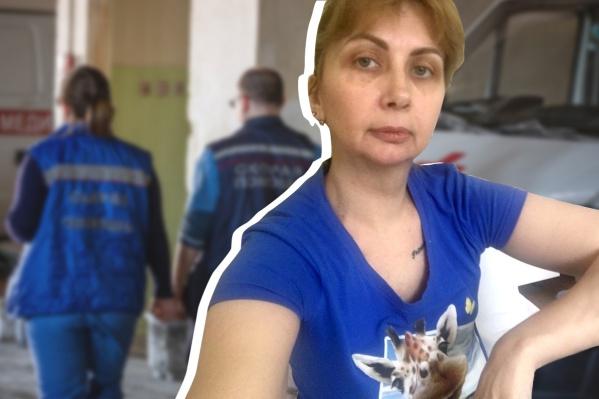 Елена Титова считает, что заразилась коронавирусом на работе