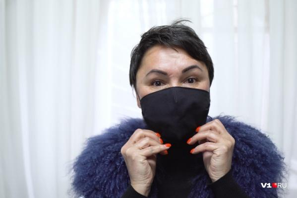 Пошив масок стал настоящим спасением для небольшого бизнеса Людмилы