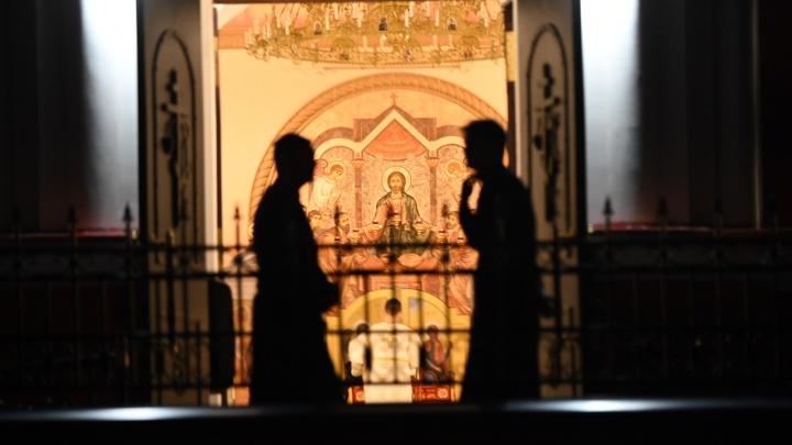 Пасха — 2020: прямой эфир из Кафедрального собора Ростова-на-Дону