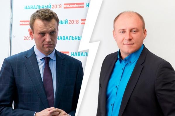 Кандидат в депутаты из Челябинска требовал с Навального миллион рублей, но решил пересмотреть иск из-за состояния здоровья оппозиционера