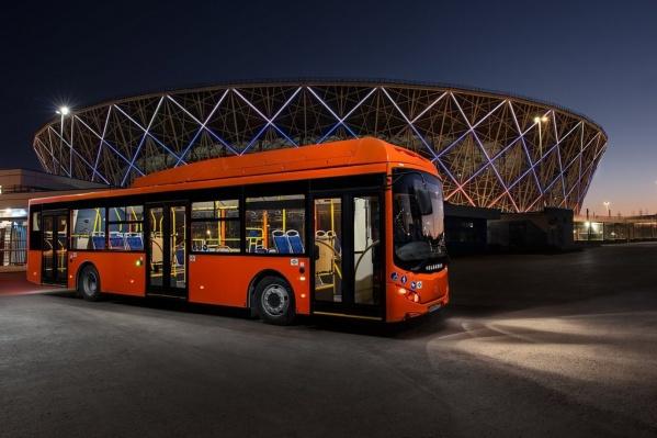 Автобусы «Волгабас» полностью низкопольные