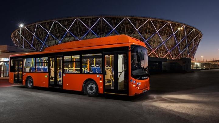 В Омск до конца года привезут 20 автобусов большого класса на метане