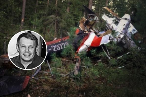 Георгий Березин разбился на вертолете Ми-2 под Лангепасом летом 2018 года