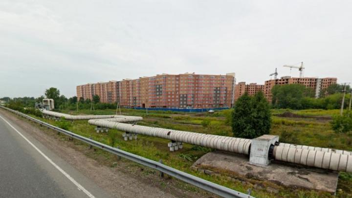 Жители нового ЖК «Ясный» жалуются, что не могут выбраться из микрорайона