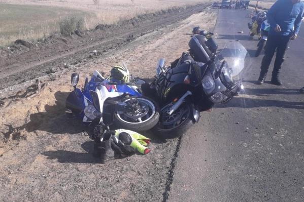 Эта авария произошла на трассеЕкатеринбург — Шадринск — Курган