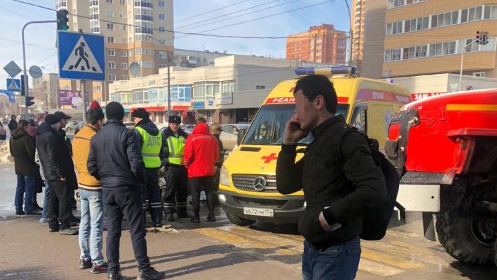 В центре Новосибирска в ДТП пострадали 3-месячный младенец и 3-летняя девочка