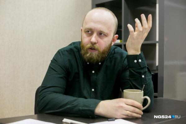 Игорь начал переживать о своих детях и стал разрабатывать сеть датчиков по всему Красноярску