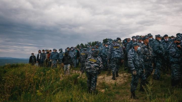 Хабирову пожаловались на деятельность ЧОП на Куштау