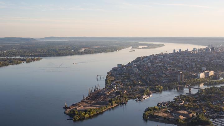 Проект застройки стрелки рек Волги и Самары будут выбирать через конкурс
