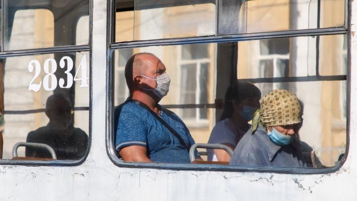 «Я боюсь штрафов, а не коронавируса»: в Волгограде пассажиров заставили соблюдать ужесточённый масочный режим