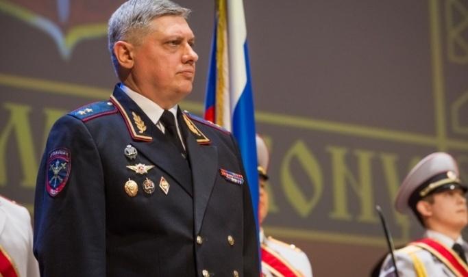 Глава новосибирского МВД написал рапорт об увольнении