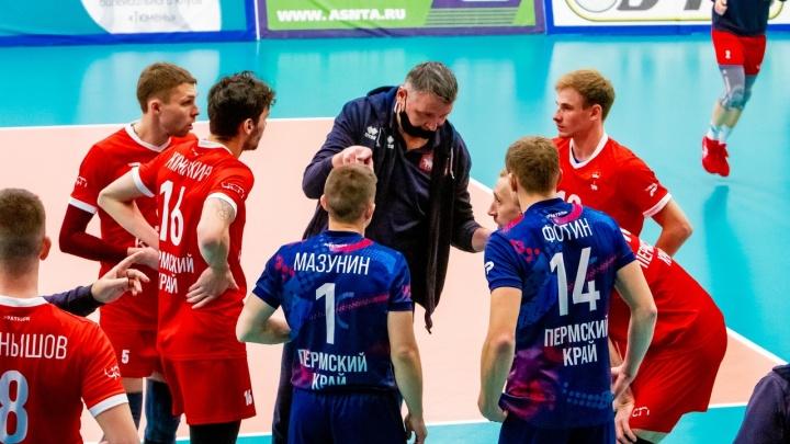 Отменили игру в Новосибирске: пермский волейбольный клуб «Кама» ушел на карантин