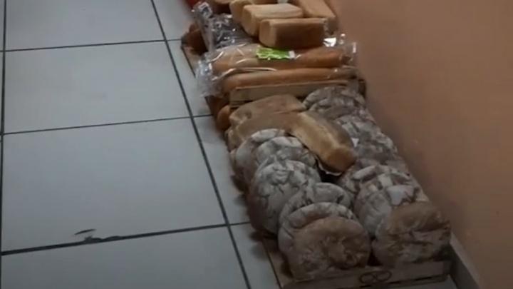 Хозяин магазина в Уфе, чей хлеб оставили на полу у туалета, рассказал об инциденте