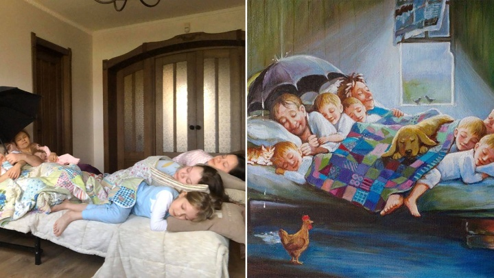 Ярославцы присоединились к «антихандрическому» флешмобу «Изоляция» и делают фотоверсии картин