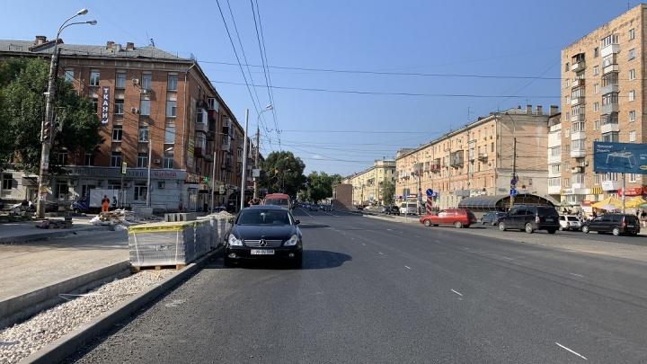 В Самаре оставили старую остановку на пересечении Победы — Ново-Вокзальной
