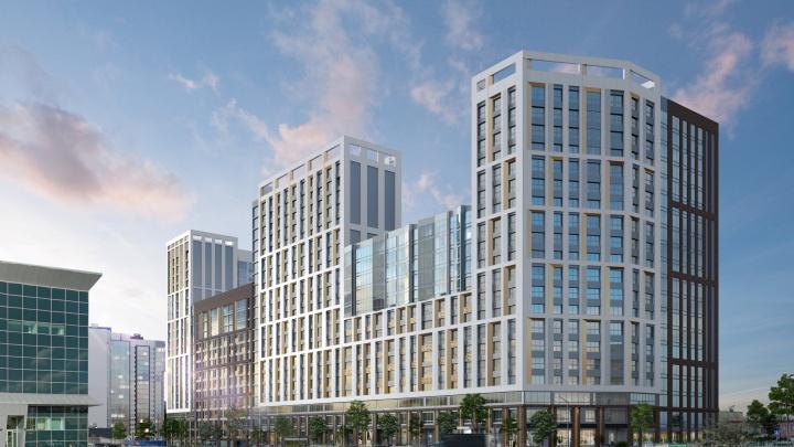 Напротив ТРК «Семья» появится жилой комплекс «Премьер» европейского уровня