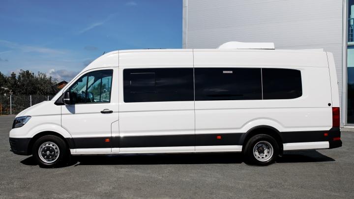 Грузовой, грузопассажирский и даже автобус — каким может быть Volkswagen Crafter