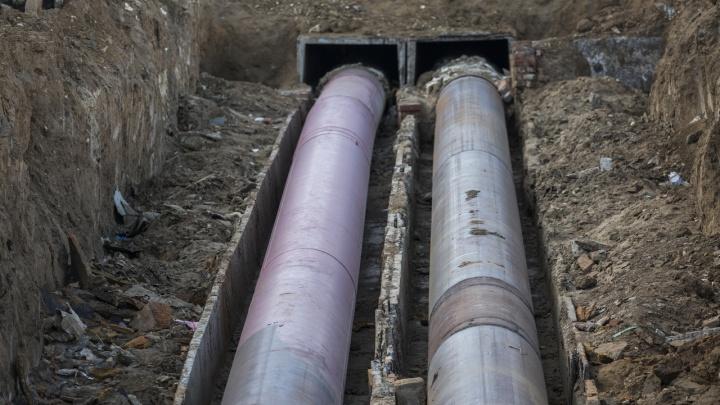 Скоро потеплеет: в Волгограде закончили ремонт на магистральном теплопроводе