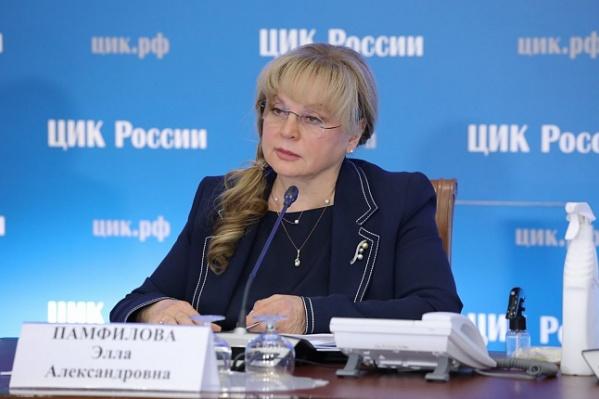 Памфилова прокомментировала ход голосования на Дону