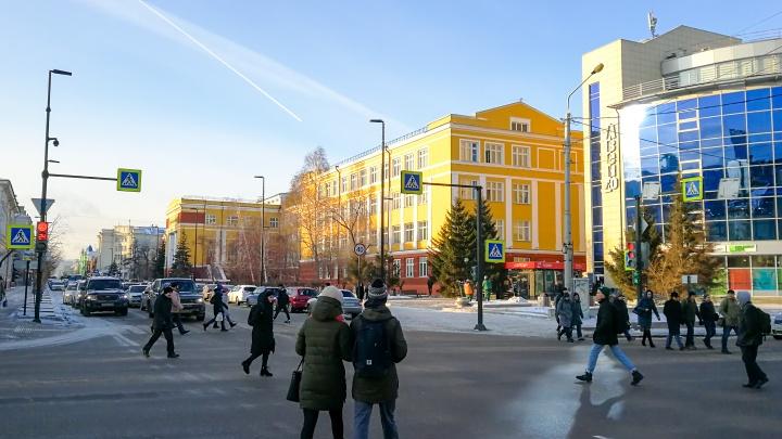 В выходные в Красноярск придет по-настоящему весенняя погода
