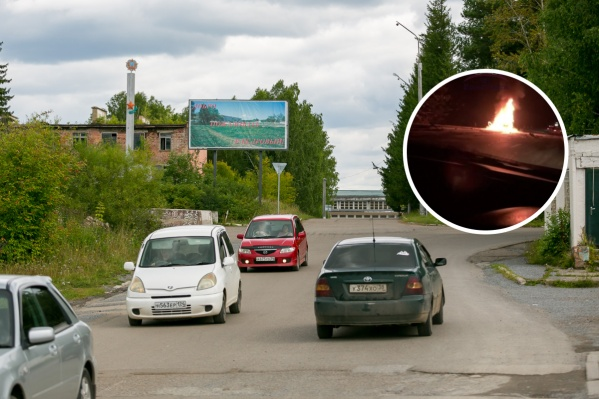 Водитель и пассажирка погибли в загоревшемся авто