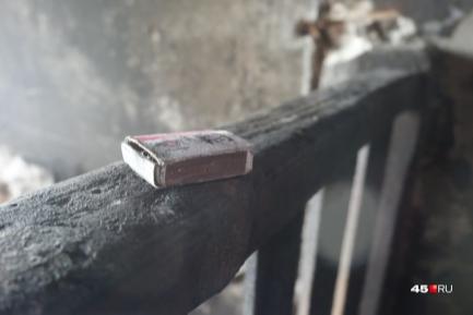 В Шадринске при пожаре в частном доме погиб мужчина