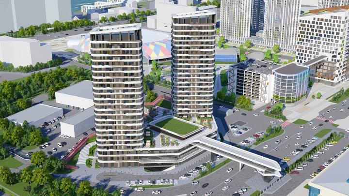 Возле арены «Кристалл» построят новый жилой комплекс в 24 этажа