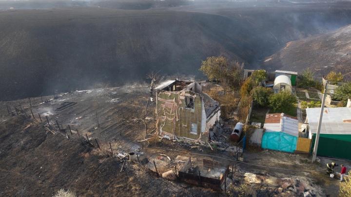 Леса горели в трех районах: в Волгоградской области назвали ущерб от вчерашних лесных пожаров