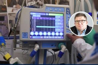 «Это обычный поступок». Тюменский депутат подарил инфекционной больнице три аппарата ИВЛ