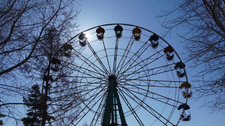 На «Зеленом острове» в Омске планируют установить колесо обозрения