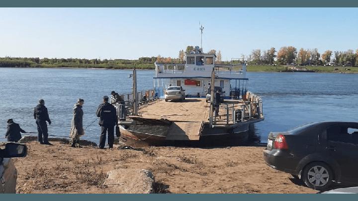Через реку Белую в Башкирии пустили паром