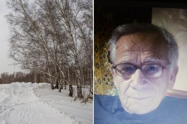 По данным поискового отряда, Кулаков заблудился по дороге домой — в районе Академгородка и микрорайона «Щ»