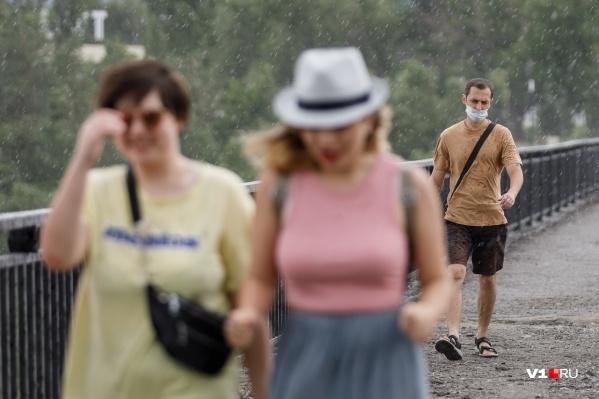 Волгоградцев ожидают гроза, дождь, ветер и град