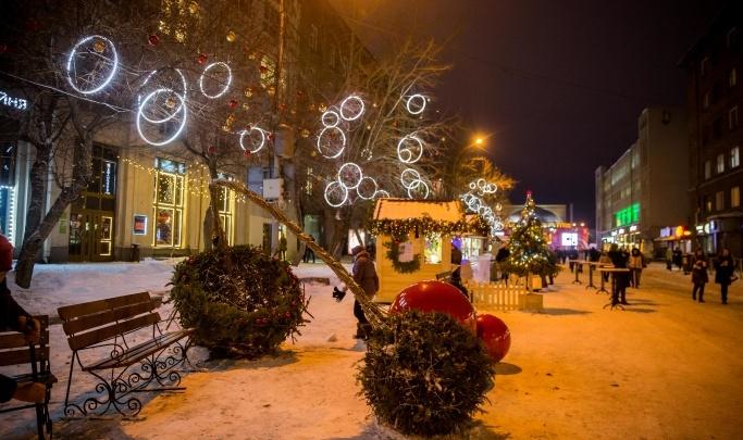 Власти Новосибирска хотят перекрыть улицу Ленина для фуд-корта