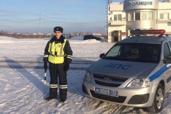 В 2019 году инспектор Альберт Геворгян помог автомобилисту, попавшему в аварию на трассе