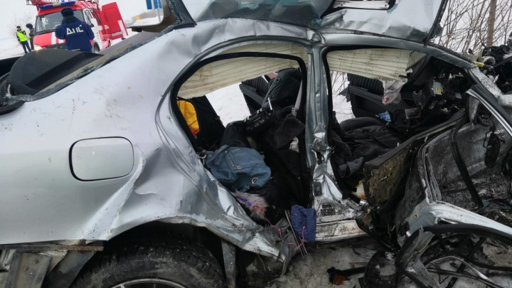 Детям южноуральской пары, погибшей вместе с младшим ребёнком в аварии, окажут материальную помощь