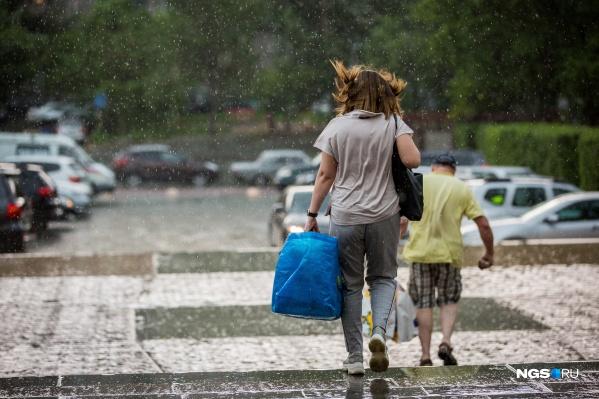 Летняя жара в ближайшие дни не вернётся, синоптики прогнозируют дожди и грозы