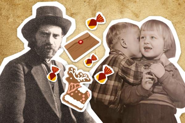 Степан Писахов не забывал племянников и присылал им сладости и деньги