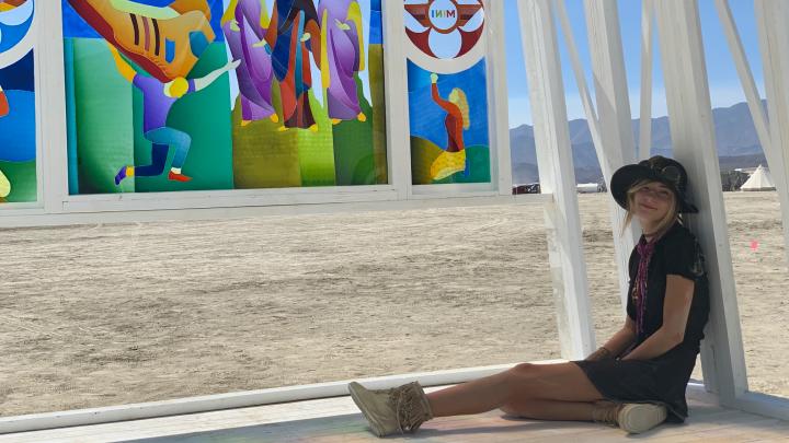 Тюменская художница Наталья Львова везет свои работы на фестиваль Burning Man