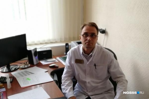 Александр Сабаев рассказал, что в токсикоцентре работает с особой категорией пациентов
