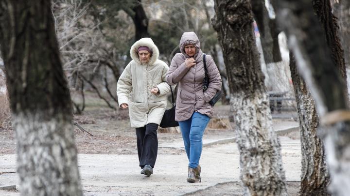 Синоптики прогнозируют снег и похолодание на конец марта в Волгограде