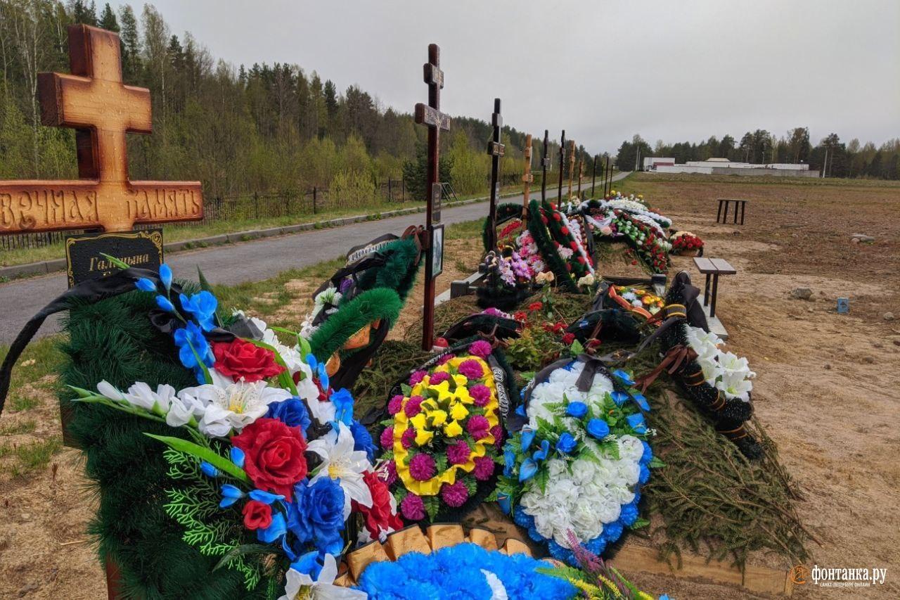 Кладбище «Илики», май 2020 года<br><br>автор фото Павел Каравашкин / «Фонтанка.ру»